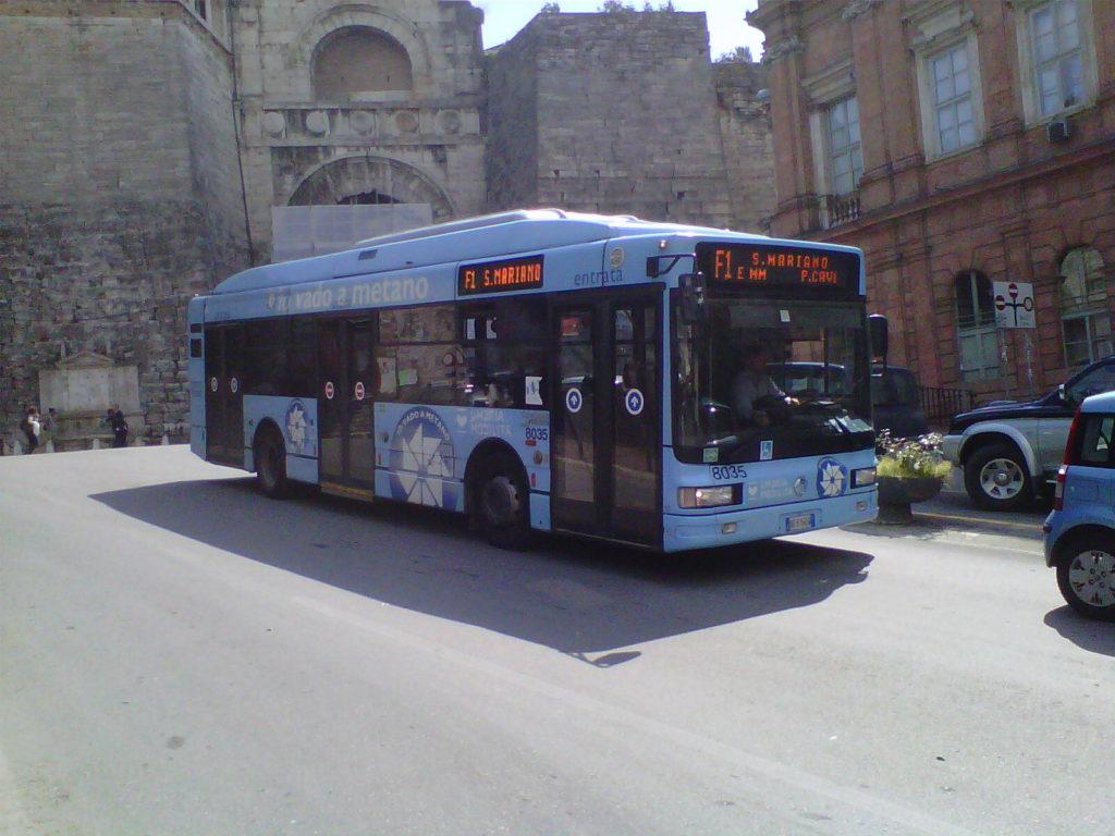 CNG Bus Perugia