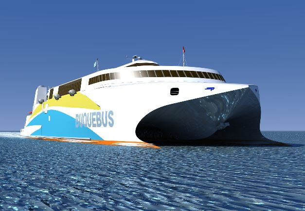 Incat-Launches-LNG-RoRo-Ship