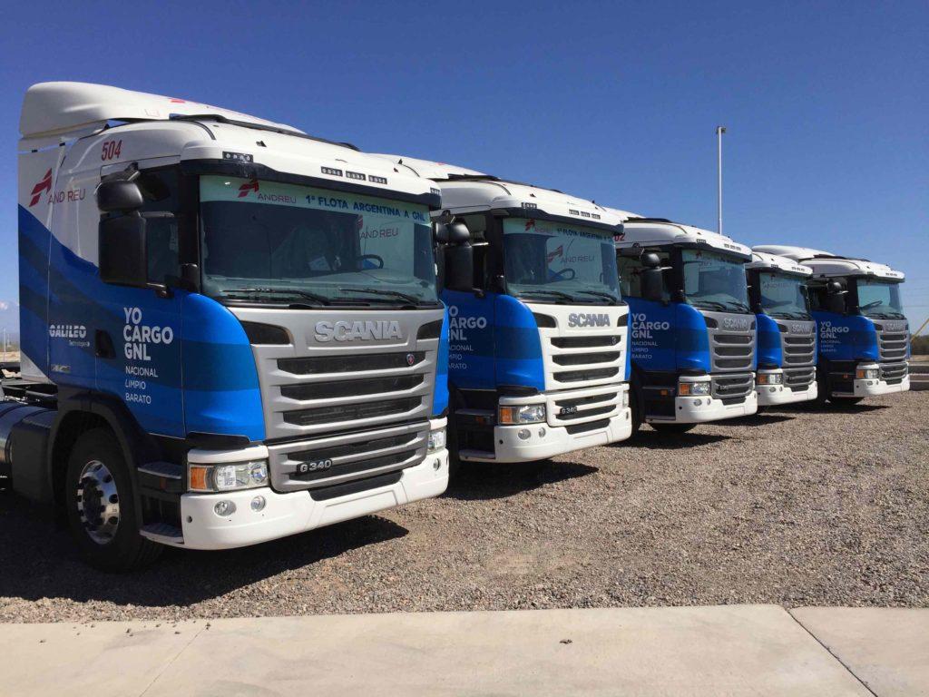 Camiones Scania, primera carga