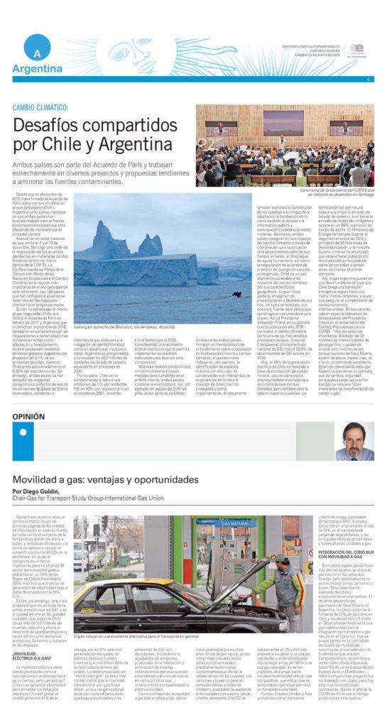 diario el Mercurio 2019-5-25